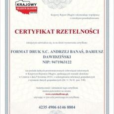 certyfikat-rzetelnosci